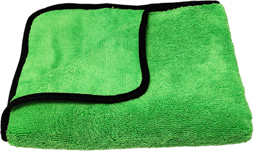 Mean Green Drying Towel
