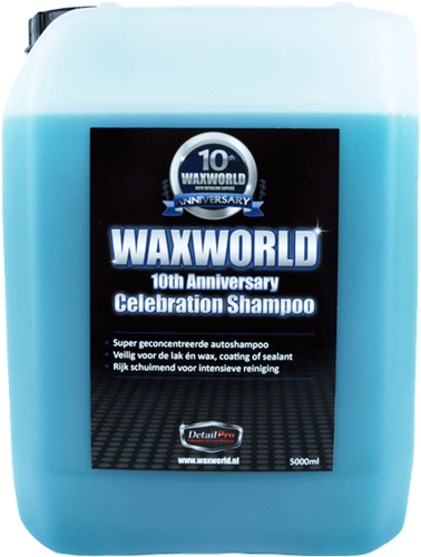 Waxworld 10th Anniversary Celebration Shampoo 5000ml