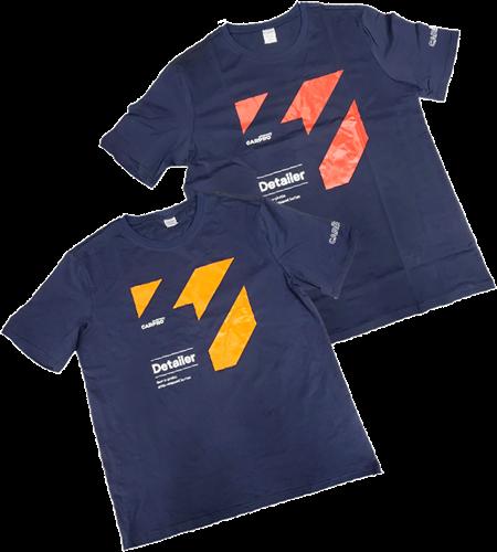CarPro T-shirt Detailer Orange XL