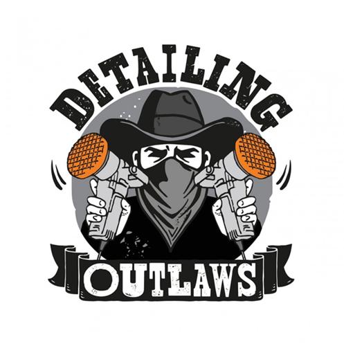 Detailing Outlaws Sticker 8x7cm