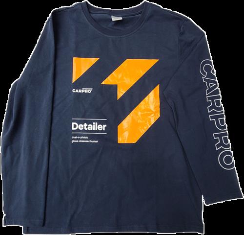 CarPro Long Shirt Orange Detailer M