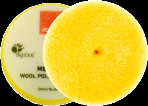 Rupes Yellow Wool Pad 130/145 Medium