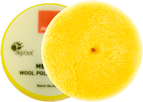 Rupes Yellow Wool Pad 80/90 Medium