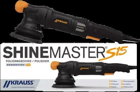 Krauss Shinemaster S15 Dual Action Polisher V2
