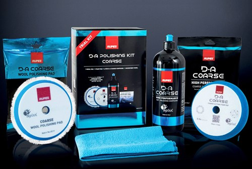 Rupes D-A Polishing Kit Coarse 150/180mm - Trial Kit